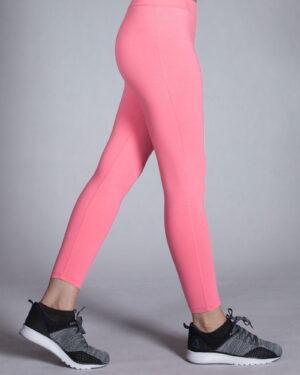 لگ ورزشی زنانه ساده - صورتی - بغل