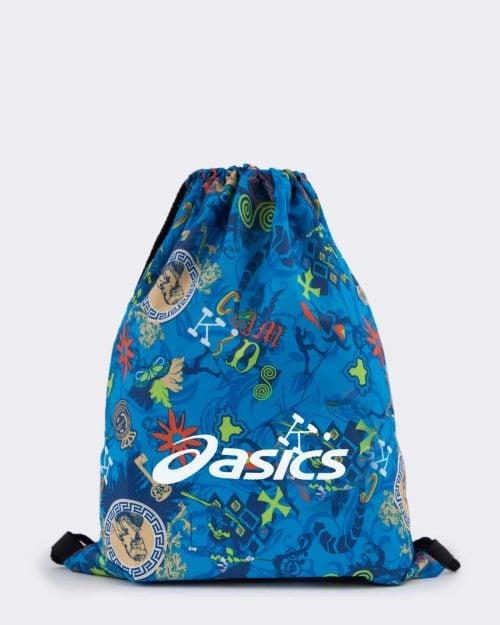کوله پشتی ورزشی مدل آسیکس - آبی روشن - رو به رو
