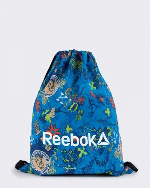 کوله پشتی ورزشی مدل ریبوک - آبی روشن - رو به رو
