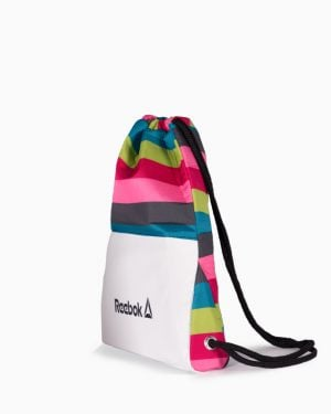 کیف اسپرت رنگی مدل ریبوک - سفید - بغل