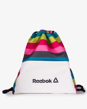 کیف اسپرت رنگی مدل ریبوک - سفید - رو به رو