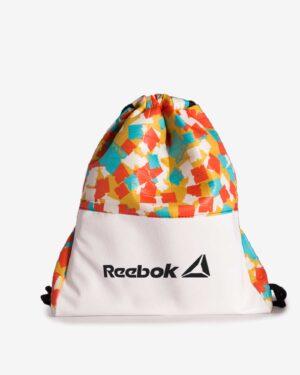 کیف اسپرت طرح دار مدل ریبوک - خردلی - رو به رو