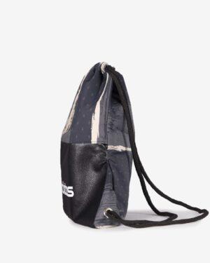 کیف طرح دار ورزشی مدل آدیداس - مشکی - بغل