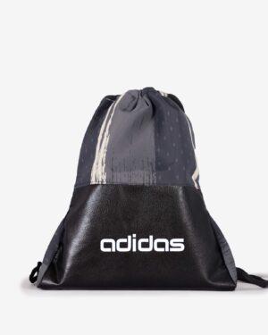 کیف طرح دار ورزشی مدل آدیداس - مشکی - رو به رو