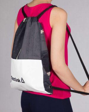 کیف طرح دار ورزشی مدل ریبوک - مشکی - محیطی