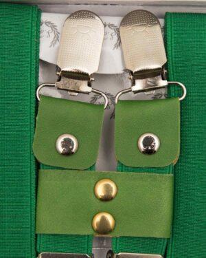 ساس بند مردانه کشی - سبز - سگک قفلی
