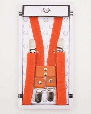 ساس بند مردانه کشی - قرمز نارنجی - رو به رو