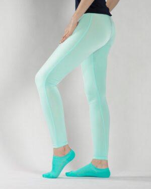 لگ زنانه ورزشی - آبی آسمانی - بغل