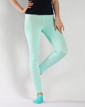 لگ زنانه ورزشی - آبی آسمانی - رو به رو