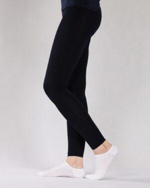 لگ زنانه ورزشی - مشکی - بغل