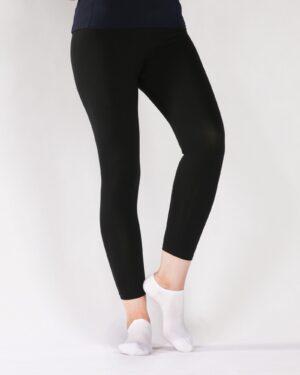 لگ زنانه ورزشی - مشکی - رو به رو