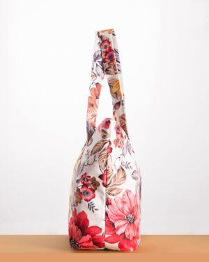 کیف دستی زنانه مدل کوتون - سفید - بغل