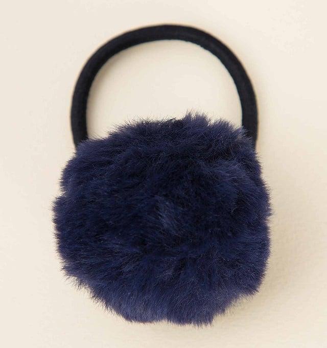 اکسسوری زنانه شامل کش موی سرمه ای در فروشگاهاینترنتی سارابارا