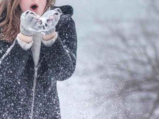 لباس زمستانی در هوای سرد برفی - مجله مد و فشن سارابارا