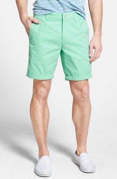 شلوارک سبز پاستلی مردانه