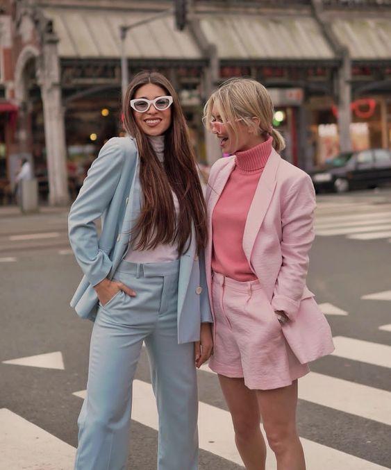رنگهای پاستلی راهنمای استایل تابستانی خانمها