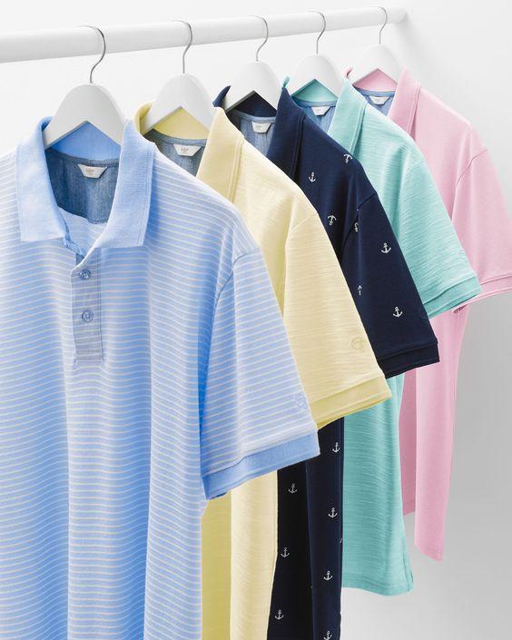 پولوشرت رنگی لباس تابستانی مردانه