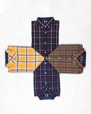 پیراهن چهارخانه اسپرت مردانه- محیطی