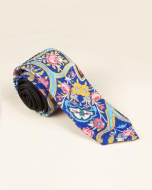 کراوات طرح سنتی - آبی تیره