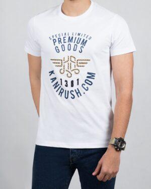 تیشرت مردانه اسپرت کانی راش - مشکی - سرمه ای تیره - سفید