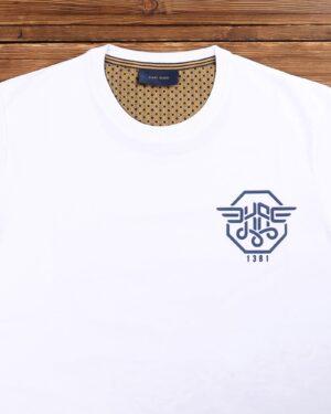 تی شرت مردانه اسپرت آستین کوتاه - سفید - یقه گرد