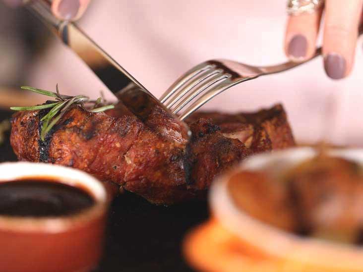 رژیم کاهش کربوهیدرات استیک گوشت رژیم های موثر کاهش وزن