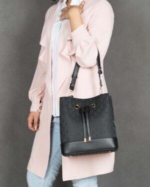 کیف مشکی زنانه طرح گوچی - مشکی - کیف دوشی زنانه