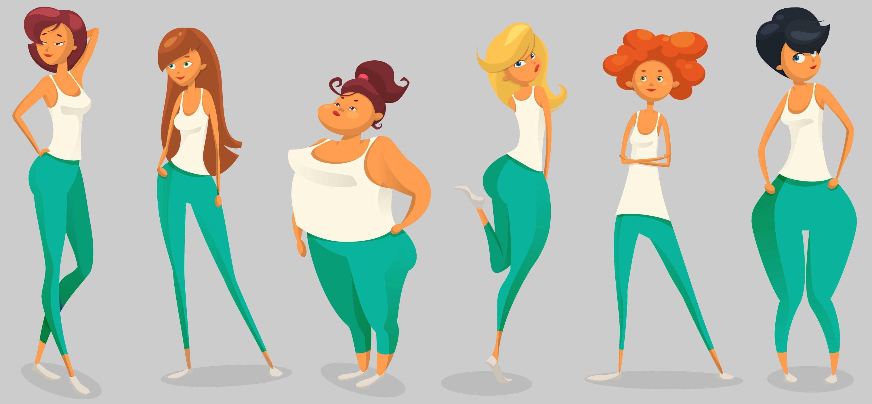 چطور شلوار جین متناسب با فرم بدن خودمان را پیدا کنیم؟