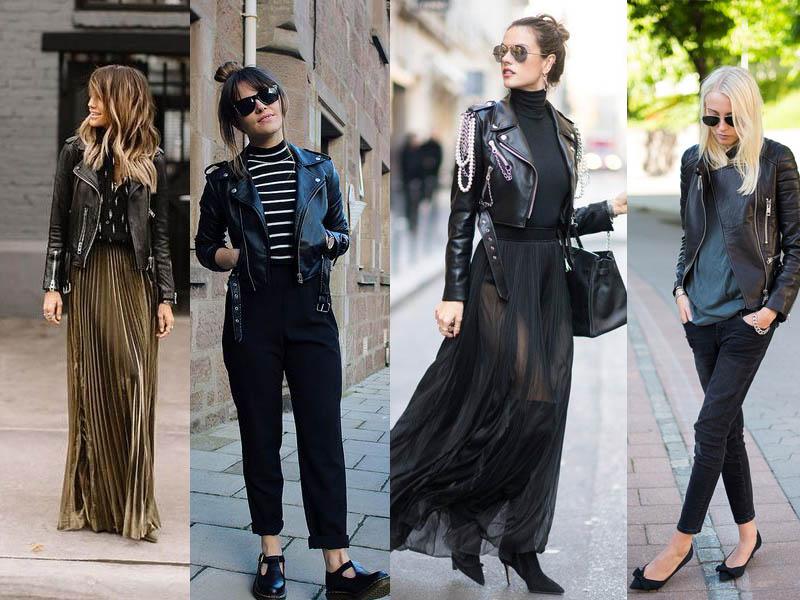 محافظت از لباس چرم زنانه و مدل های مختلف پوشیدن آن