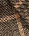 کت طرح چهارخانه زنانه - قهوه ای روشن - بافت مانتو