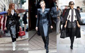 اصول ست کردن لباس چرم زنانه در سه استایل متفاوت