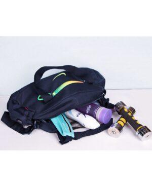 ساک ورزشی طرح نایک - سرمهای - کیف بزرگ و جادار