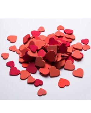 گیفت قلب کادویی فومی - قرمز - بسته 6 تایی