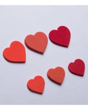 گیفت قلب کادویی فومی - قرمز - قلب قرمز رنگ