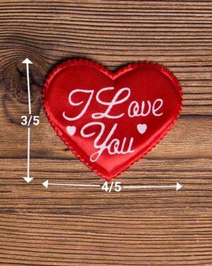 گیفت قلب کادویی کوچک - قرمز - ابعاد