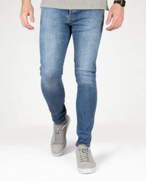 شلوار جین آبی مردانه - آبی - رو به رو