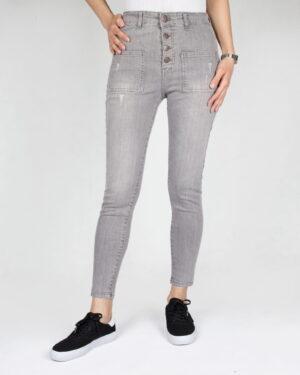 شلوار جین زنانه خاکستری-طوسی-روبه-رو-محیطی
