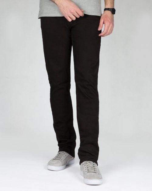 شلوار جین مردانه - مشکی - رو به رو