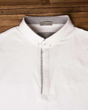 پولوشرت ساده جودون مردانه - سفید - تیشرت یقهدار وادینکوک