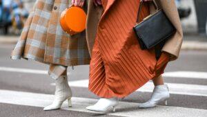 استریت استایل و کفش های زنانه ترند بهار 2020 سفید