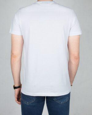 تیشرت کانی راش طرح 181-سفید-پشت