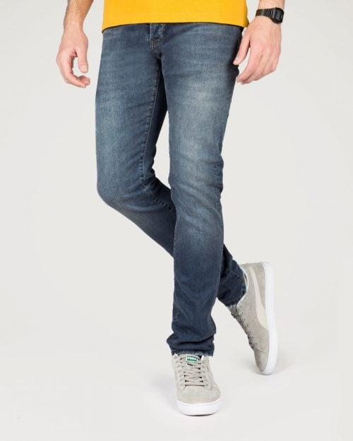 شلوار جین مردانه وادین کوک-آبی تیره-جلو