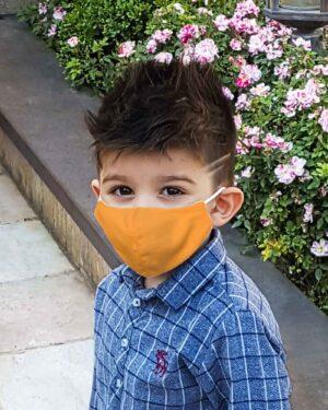 ماسک بچه گانه پارچه ای-محیطی