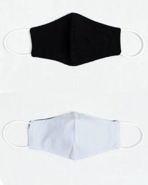 ماسک تنفسی پارچه ای-مشکی-بیرون و آستر ماسک