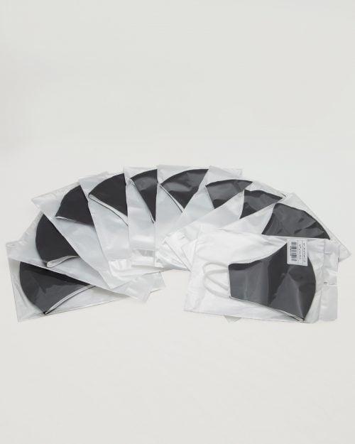 ماسک تنفسی پارچه ای-پک 10 تایی ماسک-مشکی