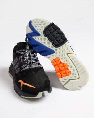 کفش اسپرت مردانه طرح آدیدادس-مشکی-زیر و روبه رو