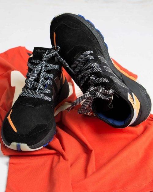کفش اسپرت مردانه طرح آدیدادس-مشکی-محیطی