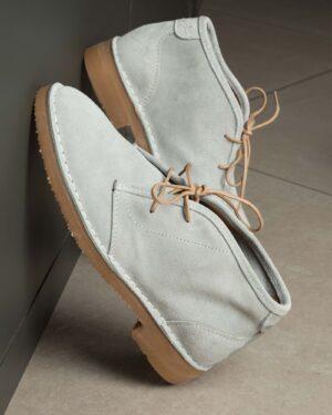 کفش مردانه ساقدار وادین کوک-طوسی کمرنگ-محیطی