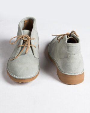 کفش مردانه ساقدار وادین کوک-طوسی کمرنگ-پشت جلو