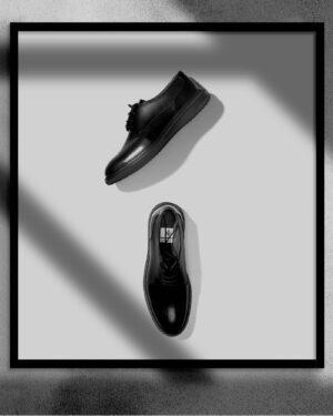 کفش مردانه مجلسی وادینکوک مشکی محیطی